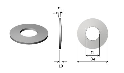 Műszaki rajz - Tányérrugók